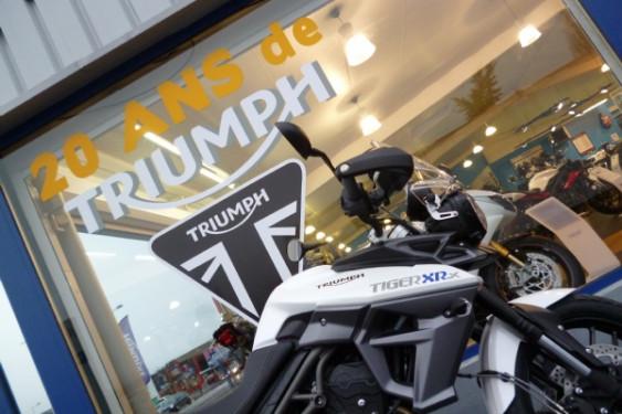 Motos Plus Triumph Auvergne fête ses 20 ans !